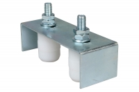 Adjustable 2 Guides Plate for Sliding Gates - IBFM