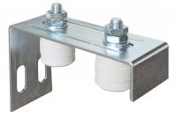 Adjustable 2 Guides Plate for Sliding Gates - IBFM