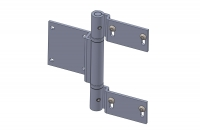 Heavy duty hinges with ball bearings for doors - IBFM