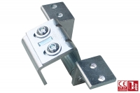 Concealed 3D Hinge for Armored Door - IBFM
