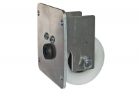 Final wheel for Cantilver Gate with Aluminium Track - IBFM
