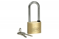 Brass Padlock - Extra Long Schakle - IBFM