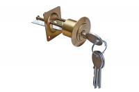 Cylindre Détaché à Appliquer en Laiton complet avec 3 clés + 1 vis - IBFM