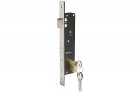 Mortice Lock for Steel Profile - INOX front - IBFM