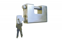 Armoured Padlock Steel Security Key - IBFM