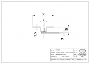 Latch for Metal Door - IBFM