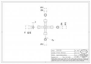 Key in Zamak - 4 Functions - IBFM