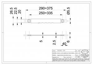 Regulating arm for Wasistas Window - IBFM
