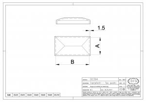 Cover for Pipe - Rectangular Model - IBFM