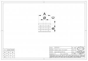 Tapon en PVC para bisagra Art. 501 - IBFM