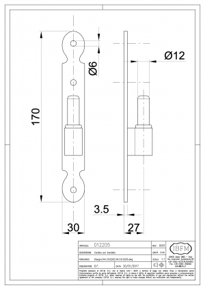 Pin for Hinge - IBFM