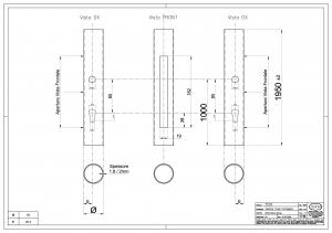 Tubo Preperforado redondo para Art. 2500-2501 - IBFM