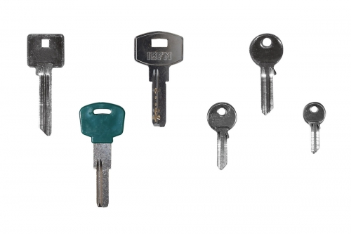 Blank Key for Cylinders and Padlock - IBFM