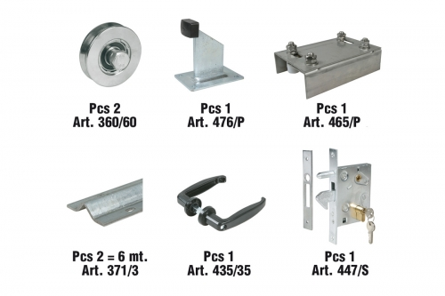 IBFM | KIT  for Sliding Gates - IBFM