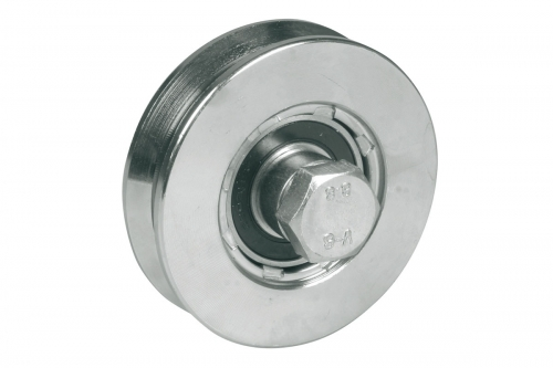 IBFM | Wheel for Sliding Gates - 2 Ball Bearing - Groove V - IBFM