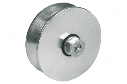 IBFM | Wheel for Sliding Gates - Groove V with Lubrication - IBFM
