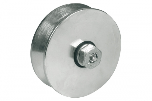 IBFM | Wheel for Sliding Gates - Round Groove with Lubrication - IBFM