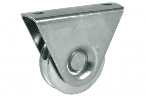 IBFM | Wheel with External Support - 1 Ball Bearing - Round Groove - IBFM