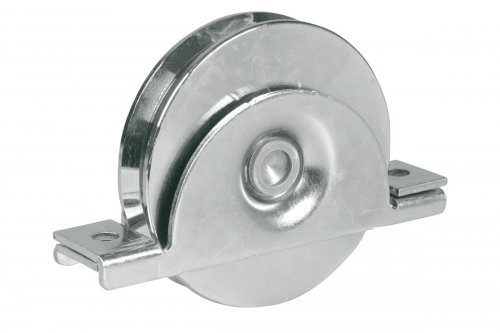 IBFM | Wheel with Internal Support - 2 Ball Bearing - Round Groove Ø20 - IBFM