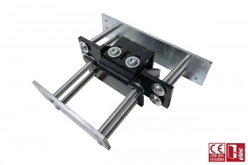 Bisagra invisible 3d para perfiles de aluminio - IBFM