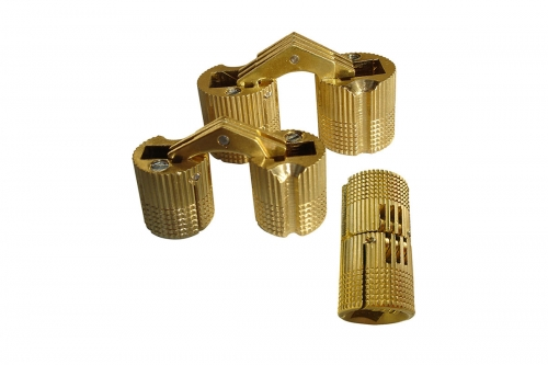 Invisible Brass Hinge - IBFM