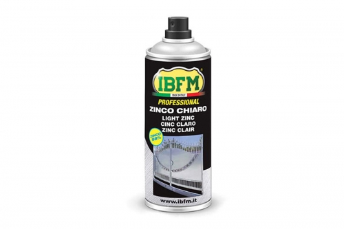 Technical ZINC Spray 98% Bottles - IBFM