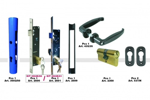 Basic KIT for Gates - Round Tubes - IBFM