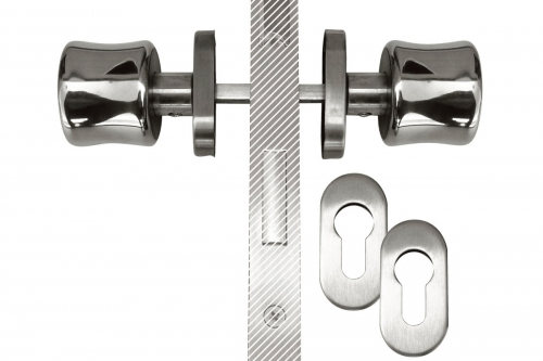 IBFM | Special double intervention handle for swimming pools and security entrances - Double Handle Model - IBFM